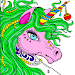 Unicorn Paint by Number: Fantasy Art Coloring Book