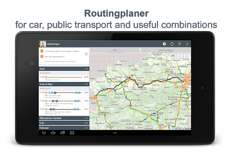 screenshot of Unterwegs version 2019.9.2
