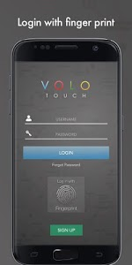 screenshot of VOLO Touch version 1.0.29