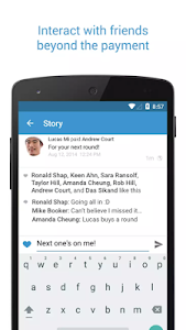 screenshot of Venmo version 6.33.1
