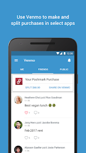 screenshot of Venmo version 7.6.1