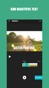 screenshot of Video Editor : Free Video Maker version 4.4.8