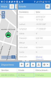 screenshot of Vigilatuauto version 3.0
