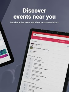 screenshot of Vivid Seats | Event Tickets version Varies with device