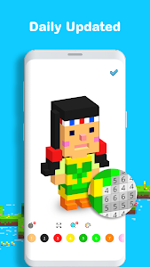 screenshot of Voxel - 3D Color by Number & Pixel Coloring Book version 3.0.2