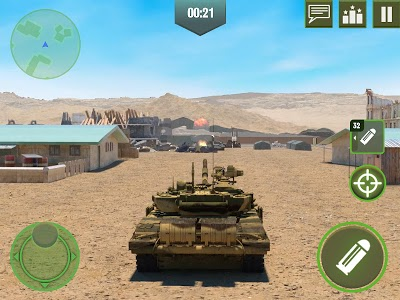 screenshot of War Machines: Free Multiplayer Tank Shooting Games version 4.14.0