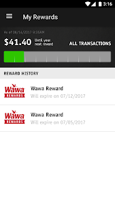 screenshot of Wawa version 3.3.1