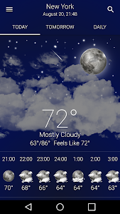 screenshot of Weather US version 164