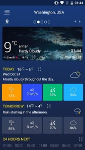 screenshot of Weather forecast version 15.15.23.17