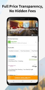 screenshot of Wego Flights, Hotels, Travel Deals Booking App version Varies with device