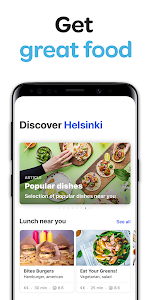 screenshot of Wolt: Food delivery version 2.10.6