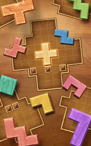 screenshot of Wood Block Puzzle version 1.8.7