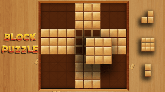screenshot of Wood Block Puzzle version 1.8