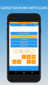 screenshot of Word Clues Game - Guess 4-5-6 Letters Words version 1.0.7