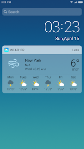 screenshot of X Launcher New: With OS12 Style Theme version 2.0.4