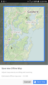 screenshot of XRS Location Services version 1.3.10