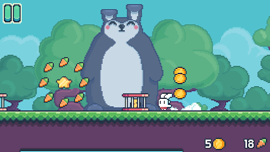 screenshot of Yeah Bunny 2 version 1.2.7