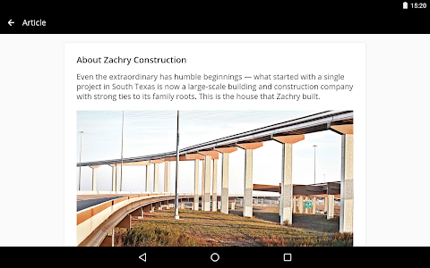 screenshot of Zachry Connect version 4.2.000