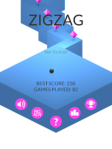 screenshot of ZigZag version 1.23