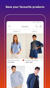 screenshot of Zilingo Shopping version 2.1.7