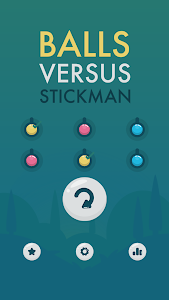screenshot of balls vs stickman version 1.2.3