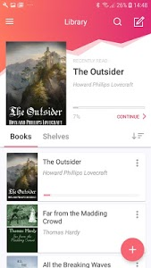 screenshot of eBoox: Reader for fb2 epub zip books version 2.32