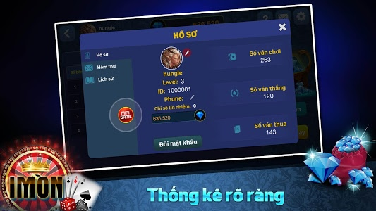 screenshot of iMon – Đẳng cấp game bai version 1.2.8