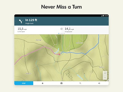 screenshot of Komoot — Cycling, Hiking & Mountain Biking Maps version 9.6.8