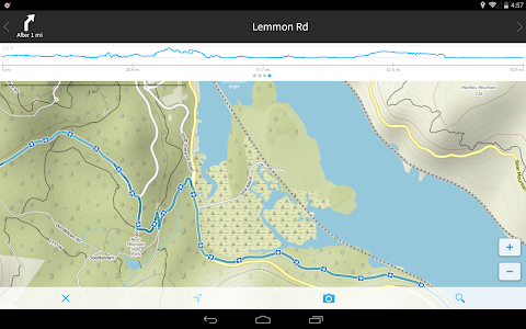 screenshot of komoot — Hike & Bike GPS Maps version 7.4.3