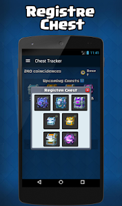 screenshot of ultimate chest tracker for CR version 1.3.1